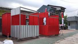 Gerobak kontainer