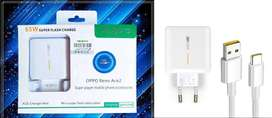 OPPo 100% Original 65W Super Vooc 2.0 Charger With Type-C Cable