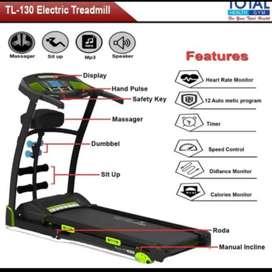 Alat fitness treadmill elektrik tl-130