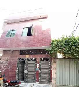 3 marla commercial double story house with 3shops for sale