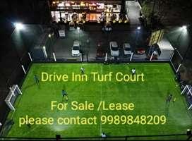 Drive Inn food court and cricket turf