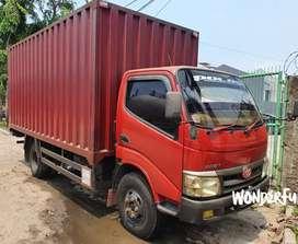 Toyota Dyna Rino 6ban 110ET 2013 Box besi Jumbo Fulors/Colt Diesel/Elf