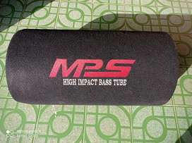 mps high impact bass tube 5000wats with alloy wheels of swift