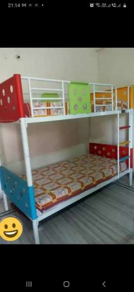 Iron Bunk-Bed(without mattresses)