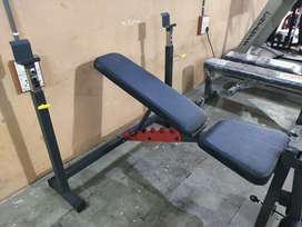 Gym bench with stand multi purpose