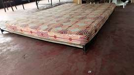 Cot and Coir Mattress for sale