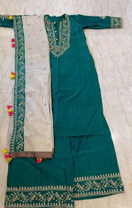 Beautiful green suit for sale!