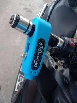 Capslock kunci gembok stang motor Anti maling