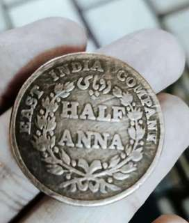 East indiacompany's coins
