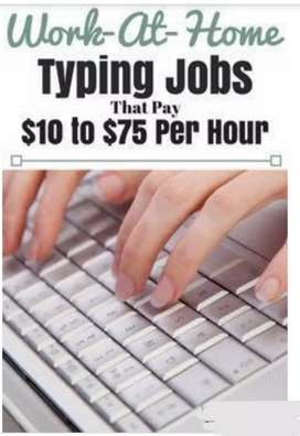 NEW STAFF HIRINGS FOR OFFLINE TYPING WORK