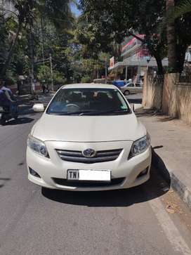 TN regd  Lawyer owned white corolla with fancy plate
