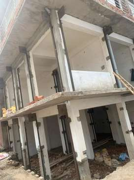 New shops under construction