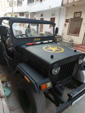 Mahindra JEEP newly restored.