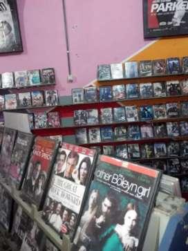 Dijual dvd vcd original bekas rental Semarang