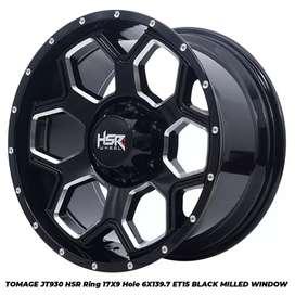 Jual velg racing HSR Ring 17 Untuk Pajero, Hilux (bisa credit)