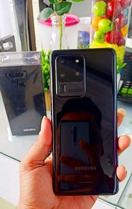 Samsung S20 Ultra SEIN Ram 12/128Gb Black 99.9%Garansi Panjang