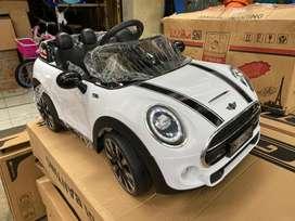 Mobil Mainan Aki Anak Listrik Remot MINI COOPER PMB 7188 BANDUNG