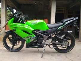 Kawasaki ninja rr 2013 hijau