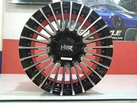 Velg Mobil Racing Tipe HSR AMARASI Ring15X65 (Xenia Calya Sigra Dll)