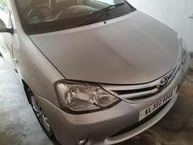 Toyota Etios (silver)