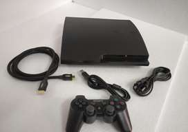 PS3 SLIM 160 GB COMPLETE WITH 10 GAME AND ALL ACCESORIES 1 MONTH WARRA