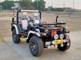 Ajay modified jeep