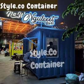 BIG SALE AWAL TAHUN | BOOTH CONTAINER CUSTOM | CONTAINER FOOD COURT |