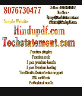 Professional website in Rs.4000