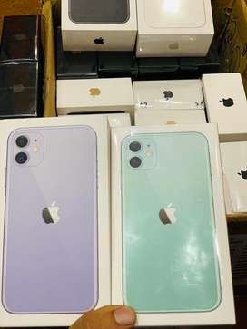 iPhone 11 64Gb & 128Gb Box Pack new with 1 Year Warranty