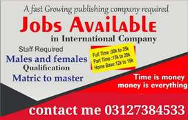 Online advertisement and network marketing job available.