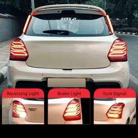 Swift 2018 led tail lights benz style with matrix indicators