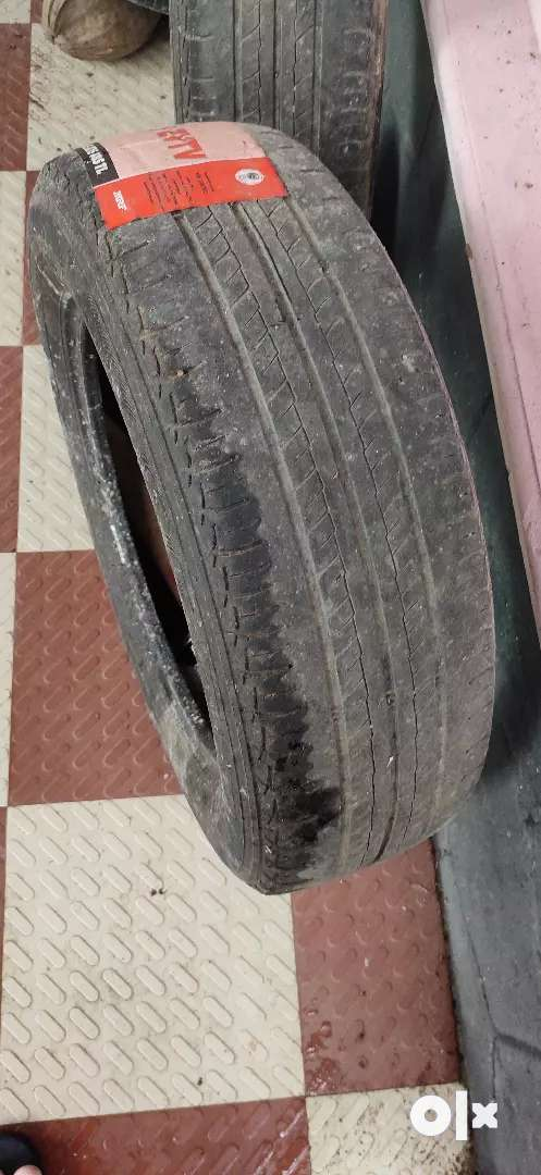 4 MRF used tyres 0