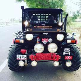Open modified willys Hunter jeeps shri Bala ji modifiers