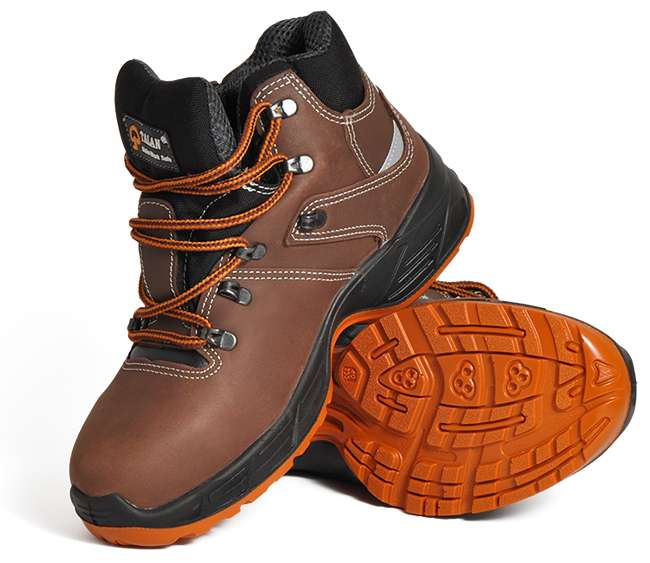 TALAN  Stylish safety footwear Model: 111 Brown 0