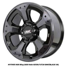 MYTH03 HSR Ring 20X9 Hole 6X139,7 ET20 BMF/BK OIL