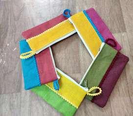 Multicolor Pouch