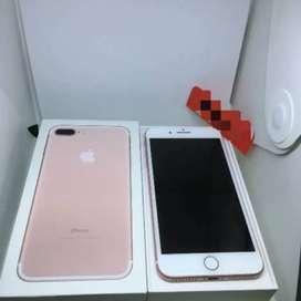 Iphone 7 plus 128gb Rose Gold Garansi Acc 2 minggu