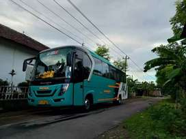 Medium bus isuzu FrR 2012