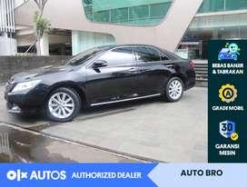 [OLX Autos] Toyota Camry 2.5 V Bensin A/T 2012 Hitam #AutoBro