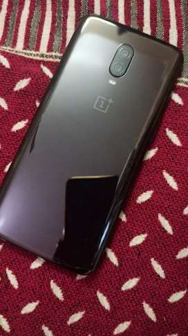 Oneplus 6t black 6/128 mint condition 13 months old