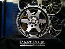 Menjual Velg Mobil Tokyo HSR R14 Untuk Mobil Latio,Livina,Avanza DLL