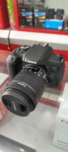 Kamera Canon EOS 750D Bisa Kredit Tanpa RIBET Syarat KTP++