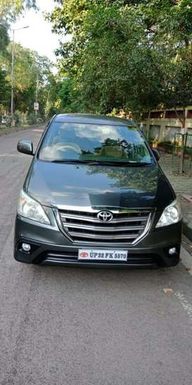 Toyota Innova 2.5 G 8 STR BS-IV, 2014, Diesel