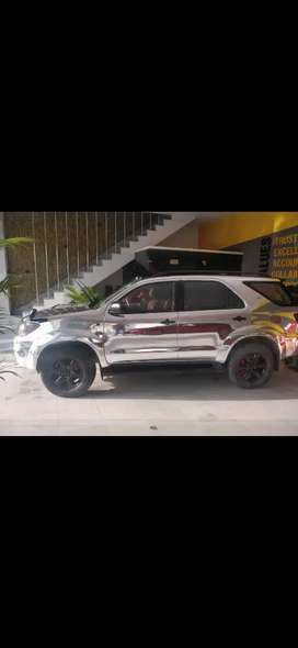 Toyota Fortuner, FULLY MODIFIED, MODIFICATIONS WORTH-3 LAKH