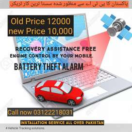 Car tracker with Recovery services