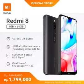 Xiaomi Redmi 8 4/64GB 5000mAh Baterai, Snapdragon 439, 12MP + 2MP