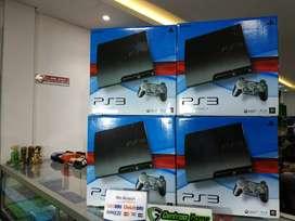 PS3 SLIM CECH-2XXX 250GB FULLGAMES FULLSET PAKET 1STIK SIAP MAIN
