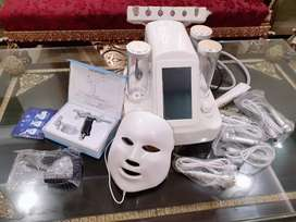 7 in 1 LED hydra dermabrasion facial machine