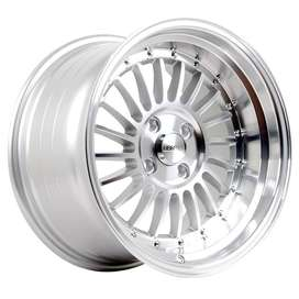 HSR velg SC-01 Ring-16X8-9-H8X100-1143-ET30-25-Silver-Machine-Face