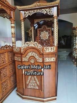 Mimbar Masjid podium salina E633 talk